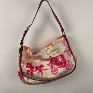 Authentic COACH Graphic Horse & Carriage Bag